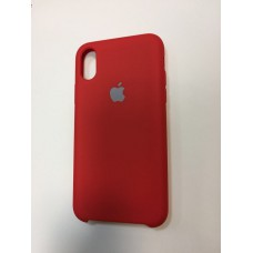 Чехол Silicon Case iPhone X/XS Red