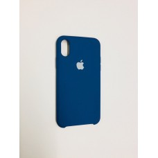 Чехол Silicon Case iPhone X/XS Dark Blue