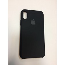 Чехол Silicon Case iPhone X/XS Black