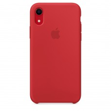 Чехол Silicon Case iPhone XR Red