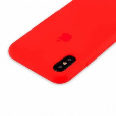 Чехол Silicon Case iPhone XS Max Red