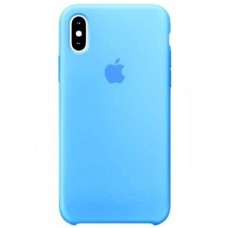 Чехол Silicon Case iPhone XS Max Мятный