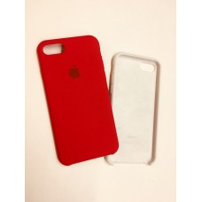 Чехол Silicon Case iPhone 7/8 Red