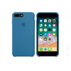 Чехол Silicon Case iPhone 7 Plus/8 Plus Blue