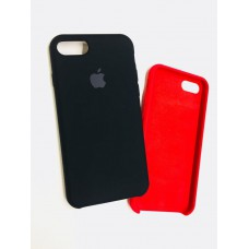 Чехол Silicon Case iPhone 7/8 Black